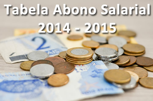 Abono Salarial - 2014 - 2015