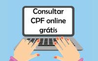 Consultar CPF online grátis